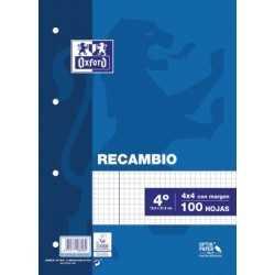 OXFORD RECAMBIO T.BLANDA 4º...