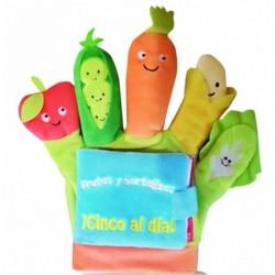 LIBRO GUANTE Frutas y...